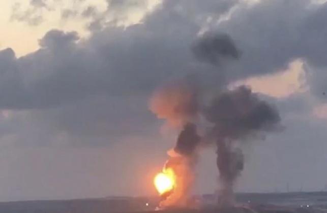 הפצצת מנהרת חמאס, הערב