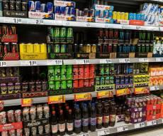 מגוון משקאות אנרגיה - משקאות האנרגיה מסוכנים, במיוחד לילדים