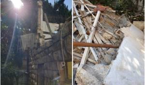 ירושלים: חצי קומה קרסה; פועל בניין - נלכד וחולץ