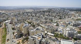 ירושלים, תל אביב ו...מודיעין עילית מהאוויר