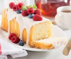 עוגת גלידה אפויה מ-2 רכיבים בלבד