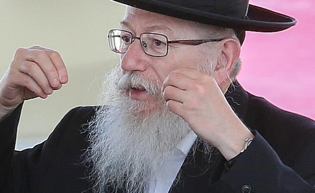 """יו""""ר 'אגודה' יעקב ליצמן"""