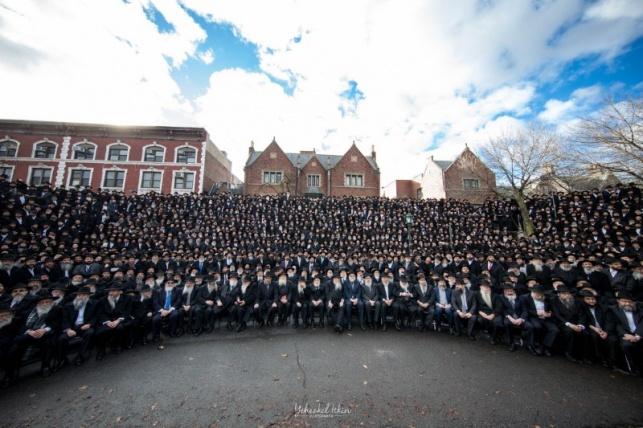 תיעוד מרהיב: העולם היהודי בתמונה אחת