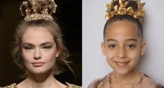 מצאו את ההבדלים - זה דולצ'ה וגבאנה? לא, זו מעצבת שיער חרדית