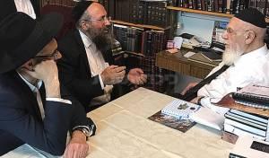 """ועד ההורים אצל הגר""""ש כהן, הערב - נשיא המועצת אישר את הפשרה ב'סנהדרין'"""