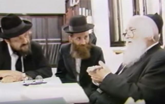 מרן הרב שך, גפני ורביץ - בימים ההם