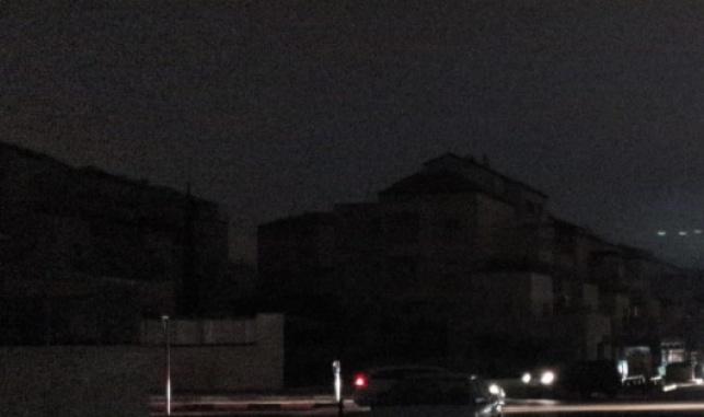 הפסקת חשמל בעיר חרדית