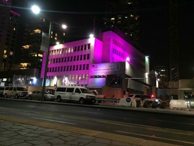 השגרירות בבניינה בתל אביב