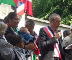 לקלרק מפגין למען עזה - דרעי וארדן: מנעו כניסת ראש עיר מצרפת
