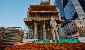 אתר בנייה בתל אביב
