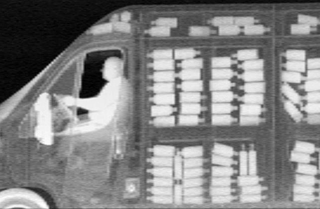 רכב חברת AS&E מצלמת רנטגן גילוי סמים נשק 2
