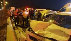 """תאונה בכביש 6: ילדים חרדים פונו לביה""""ח"""