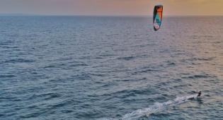 עוצר? תיעוד מחוף הים בראשון לציון • צפו