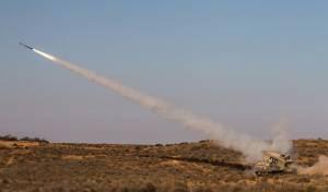 """ירי ראשון ברקטה החדשנית - רקטת ה'רומח' החדישה של צה""""ל - בפעולה • צפו"""