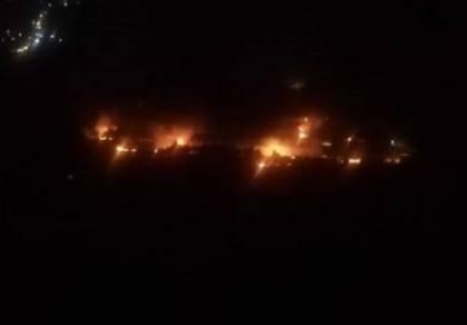 תיעוד מההתרחשות בשמי סוריה הערב