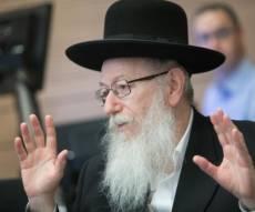 סגן השר יעקב ליצן במשכן הכנסת