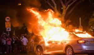 וונדליזם במחאת האתיופים