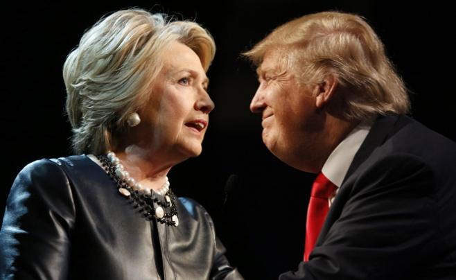 גולשי 'כיכר' בוחרים: קלינטון או טראמפ?