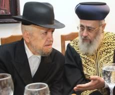 """הגר""""י יוסף והגר""""מ מאזוז"""