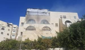 סוכה התלקחה, דירה נשרפה ארבעה נפצעו