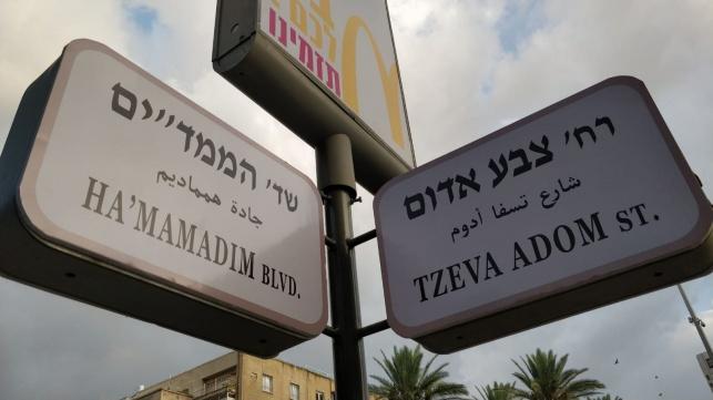 """מחאה: """"החמאס"""" ו""""צבע אדום"""" - בתל אביב"""