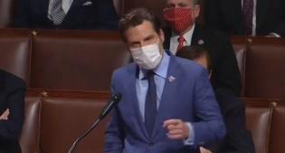 גייץ בנאומו בבית הנבחרים