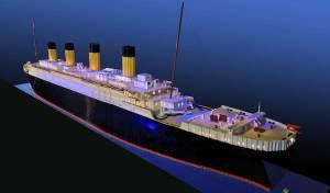 בן 10 בנה מלגו את אוניית הטיטניק הגדולה בעולם