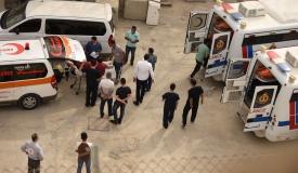 22 פצועים מעזה הועברו לטיפול בירדן • צפו