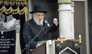 הגאון רבי משה הלל הירש, ראש ישיבת סלבודקה וחבר מועצת גדולי התורה