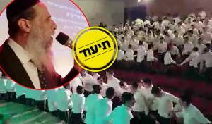 """שעה לפני: הגר""""א כהן הרקיד את תלמידיו"""