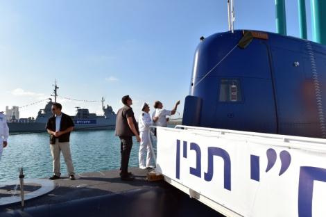 """הקודמת. אח""""י תנין - הצוללת בשווי 1.6 מיליארד שקל בדרך לישראל"""