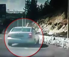 """הרכב מסתחרר ליד רמת שלמה - נהג בפראות עם ילדיו: """"המלאך שומר עליי"""""""