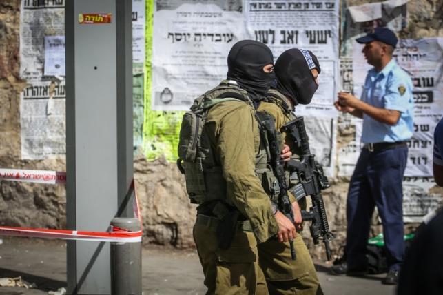 כוחות ביטחון ברחובות ירושלים