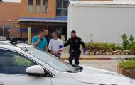 הגנב נעצר עם הרכב הגנוב במחסום. צפו