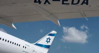 """מטוס הדרימליינר """"אשדוד"""" - סדק בחלון קירקע את הדרימליינר של אל-על"""