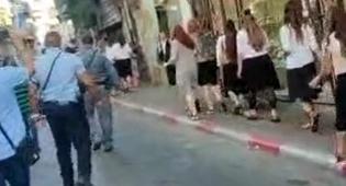 'פריצעס': הקיצונים צווחו על בנות המצעד