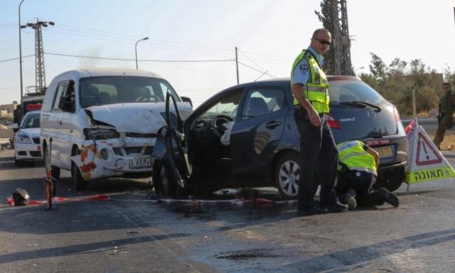 זירת התאונה, אתמול