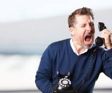 הטרדות בטלפון. אילוסטרציה - לא מפסיקים להטריד אתכם בטלפון? זה יכול להיפסק