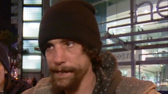 כריסטופר באחד הראיונות אחר הפיגוע