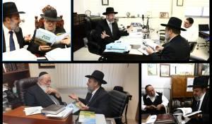 הרב הציג בפני הרבנים את פעילות המכון בקרב החקלאים שומרי השמיטה, את הפעילות בהפצת תורת השמיטה וכן את אופני הנחלתה בקרב הדור הצעיר