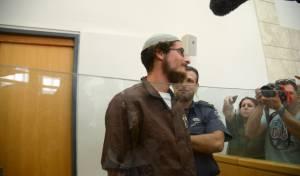 מאיר אטינגר, פעיל ימין במעצר מנהלי. ארכיון