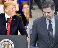 טראמפ וראש ה-FBI המודח קומי - התובע: נבחן אם טראמפ שיבש את החקירה