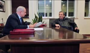 """2012: ברק שר הביטחון וראה""""מ נתניהו"""