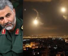 """משמאל: קאסם סולימני. האיש שאחראי להסלמה לפי צה""""ל - סוריה: התקיפות הישראליות ייענו  בירי טילים"""