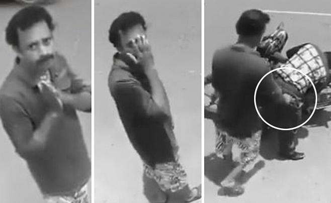 מול המצלמה: גנב, התחרט וחזר בתשובה