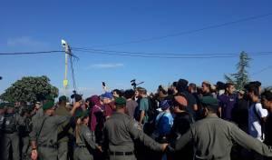 פינוי 'נתיב האבות': כאלף מפגינים במקום