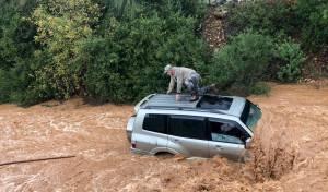 הסופה עדיין בעיצומה: אלו כמויות הגשמים
