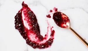 ריבת פטל ויין אדום - מתוקה, עזה ופוטוגנית