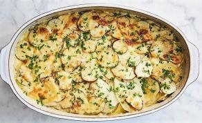 גראטן ירקות שורש מוקרם בטעם של סתיו