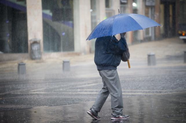 הגשם יתחיל בצפון ובמרכז ויתחזק בלילה